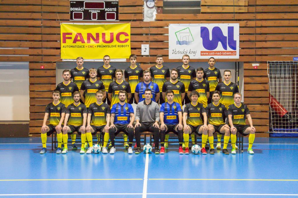 """FC Rapid Ústí nad Labem """"A"""" tým 2020/2021"""