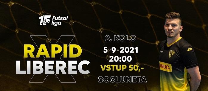 Po více než roce před domácími fanoušky – Rapid hostí na Slunetě v severočeském derby FTZS Liberec!